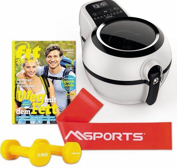Tefal FZ7600 Heißluft Fritteuse inkl. Fitness Set für 115,99€ (statt 145€)