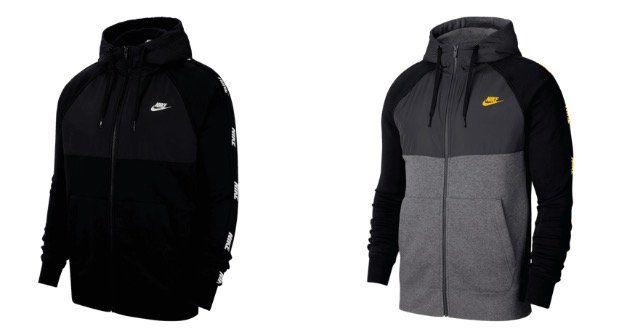 Nike Kapuzenjacke Hybrid BB Hoody in zwei verschiedenen Farben für nur 46,95€ (statt 75€)
