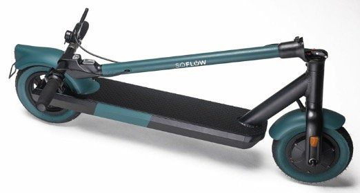 SoFlow E Scooter SO6 mit Straßenzulassung und 10 Luftreifen für 479€ (statt 669€)