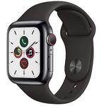 Apple Watch Series 5 GPS + LTE 40mm mit Edelstahlgehäuse für 613,51€(statt 700€)