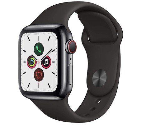Apple Watch Series 5 GPS + LTE 40mm mit Edelstahlgehäuse für 577,75€(statt 670€)