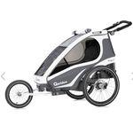 Qeridoo KidGoo 1 Sport (2019) Fahrradanhänger für 374,99€ (statt 456€) + 38€ in Babypunkte