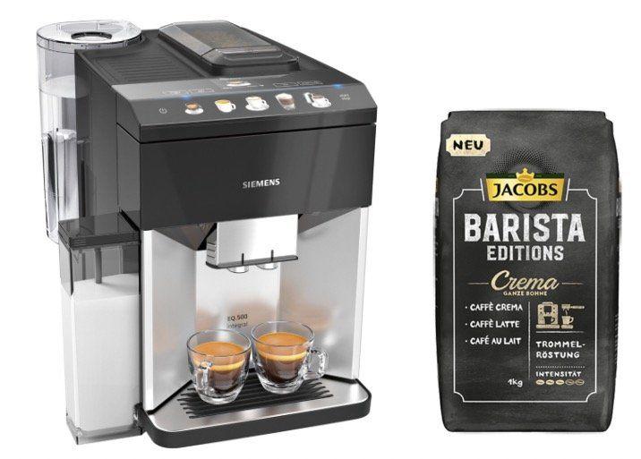 Siemens TQ503D01 EQ.500 integral Kaffeevollautomat für 559,99€ (statt 605€) + 6kg Bohnen gratis