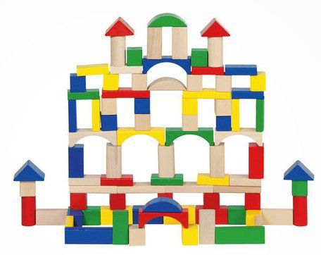 Goki Bausteine aus Holz (100 Stück) ab 8,99€