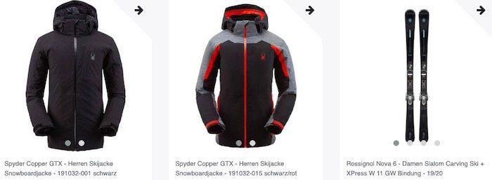 🔥 60% auf alle Winterartikel wie Jacken, Ski oder Ski Schuhe   z.B. BOGNER Damen Daunenjacke nur 119,60€
