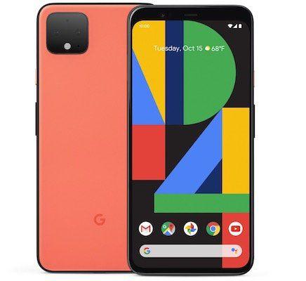 Google Pixel 4 64GB Oh So Orange Limited Edition (auch Schwarz und Weiß) für 459€ (statt 529€)