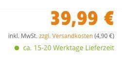 Abgelaufen! Vitavia Zeus Gewächshaus 266 x 622cm für 44,89€(statt 3.499€)