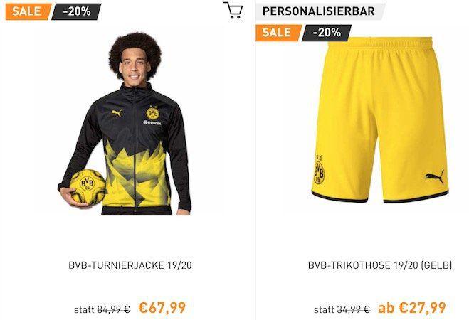 BVB Shop mit WSV bis  30%   z.B. Fleecedecke 23,99€ (statt 30€)