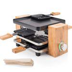 Princess Raclette-Grill in Bambus für 4 Personen inkl. Holzspatel ab 24,99€ (statt 45€)