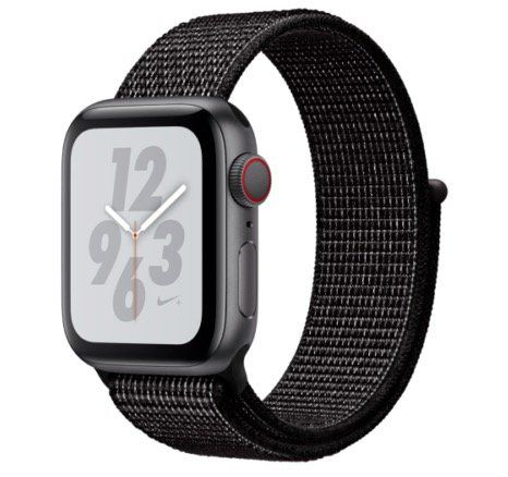 Apple Watch Series 4 Nike+ (GPS + Cellular) in 40mm mit Sport Loop für 399€ (statt 453€)