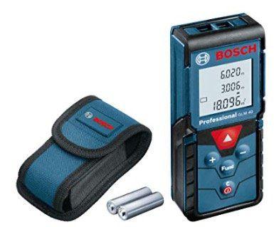 Laser Entfernungsmesser Bosch GLM 40 Professional für 38,09€ (statt 67€)