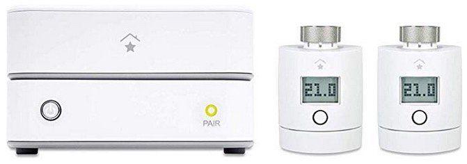 innogy SmartHome Starter Set Heizung mit Zentrale und 2 Thermostaten für 114,95€ (statt 179€)