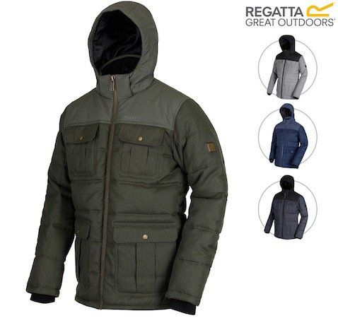 Regatta Arnault RMN111   wasserabweisende Outdoorjacke für 35,90€ (statt 52€)