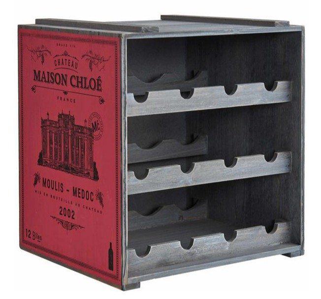 Butlers Vinothek Weinregal aus Tannenholz für 12 Flaschen für 29,99€ (statt 41€)