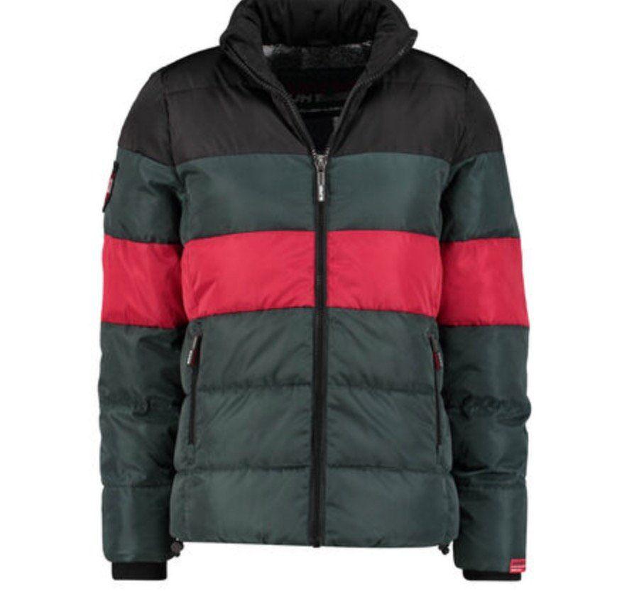 Superdry Colour Stripe Sports Herren Steppjacke für 62,91€ (statt 75€)