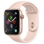 Apple Watch Series 4 LTE in 44mm Gold mit Sportarmband Sandrosa für 419,90€ (statt 463€)