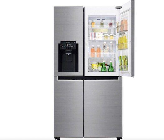 LG GSJ761PZZZ Side by Side mit NoFrost + Wasser  und Eiswürfelspender für 1.628,95€ (statt 2.639€)