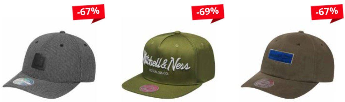 Mitchell & Ness Snapbacks für je nur 11,11€ + 3,95€ VSK (statt 24€)