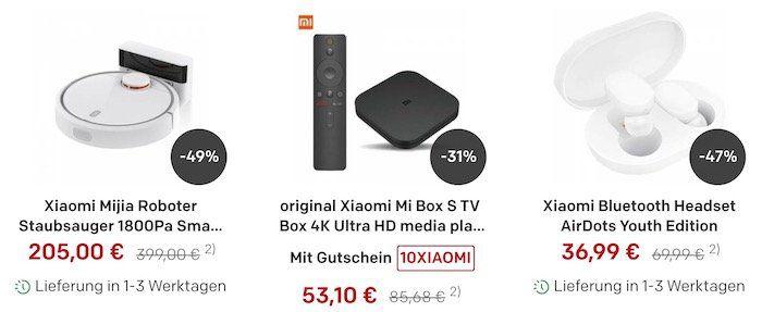Rakuten: bis zu  20% auf Xiaomi Produkte + 5 fach Superpunkte