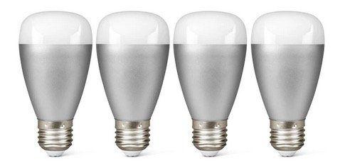 Medion Smart Home Sparpaket mit 4x RGB E27 LED Leuchte P85716 für 29,95€ (statt 100€)