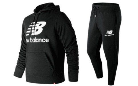 Bundle aus New Balance Essential Kapuzenpullover und Jogginghose für 63,95€ (statt 89€)