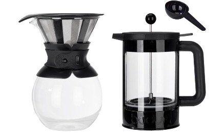 Bodum Pour Over Eiskaffee  oder Kaffeebereiter für 14,94€ (statt 19€)