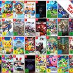 3 Nintendo Switch Spiele für 111€ zzgl. VSK (50 Games zur Auswahl)