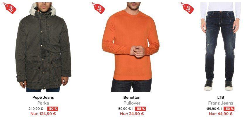 Marken Fashion mit 50% bis 80%  bei dress for less + keine VSK   z.B. Tommy Hilfiger Chino nur 49,90€ (statt 90€)