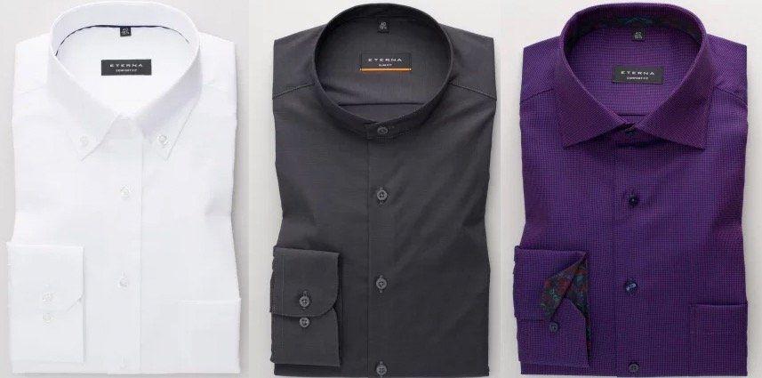 3x eterna Hemd für zusammen nur 99,95€ (statt 125€)