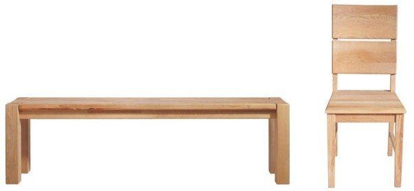 Linea Natura Esstisch aus Kernbuche in Massiv ab 249€   dazu Sitzbank für 99€ oder Stuhl 49,95€