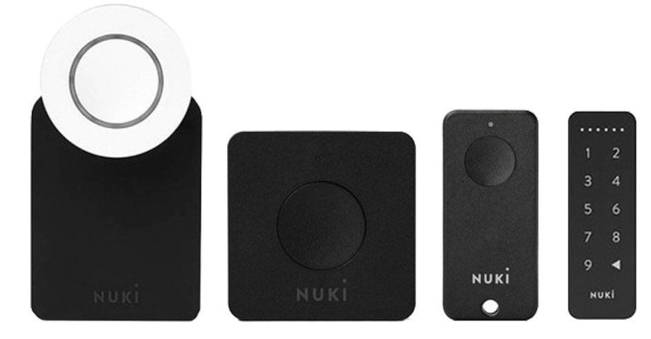 Nuki Komplett Set (Smart Lock 2.0, Bridge, Fob, Keypad) für 319€ (statt 383€)