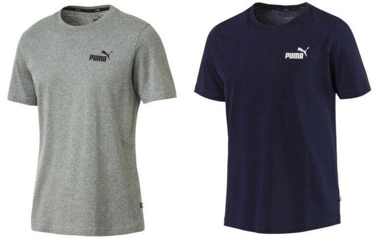 Puma Essentials Small Logo T Shirt für je 8€ (statt 13€)
