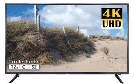 JAY TECH S55U5117J 55 UltraHD Fernseher mit Smart Funktionen für 349€ (statt 518€)