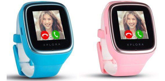 Xplora 3S Kinder Smartwatch in Blau oder Rosa für 139€ (statt 200€)