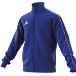 adidas Core 18 Polyesterjacke in Blau-Weiß für 13,56€