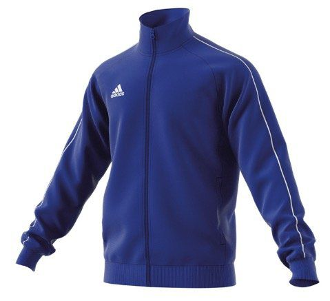 adidas Core 18 Polyesterjacke in Blau Weiß für 13,56€
