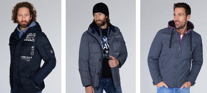 Camp David mit bis zu 70% im Sale   z.B. Winterjacke für 50€ (statt 130€)