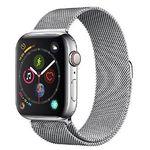 Apple Watch Series 4 LTE 44mm Edelstahlgehäuse mit Milanaise Armband für 524€ (statt 646€)