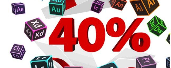 Adobe: 40% auf Creative Cloud   bis 23. Januar nur 35,69€ mtl. (statt 59,49€)