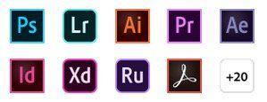 Adobe: 20% auf Creative Cloud   nur 46,39€ mtl. (statt 58,49€)   oder Schüler, Lehrer nur 15,08€
