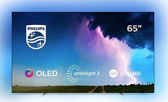 Philips 65OLED754   65 Zoll OLED mit 120Hz + Ambilight für 1.417€ (statt 1.999€)