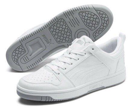 Puma Rebound Lay Up Lo SL Unisex Sneaker in Weiß für 31,20€ (statt 54€)