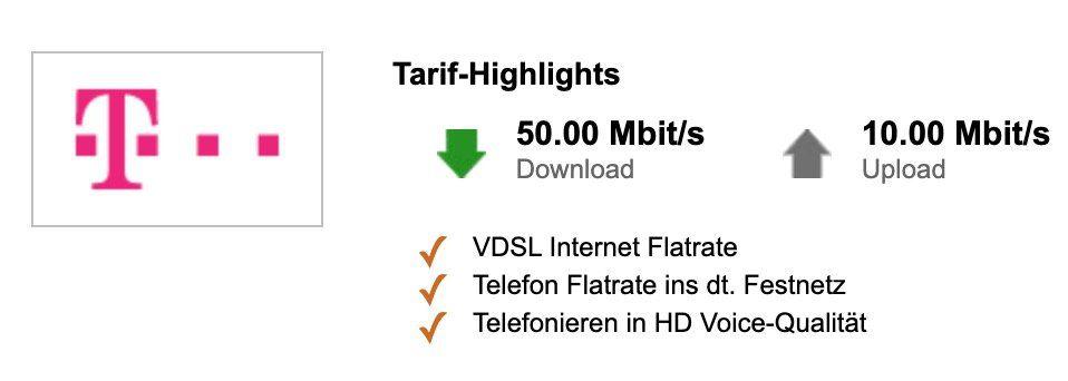 Telekom Magenta Zuhause M (50 Mbit/s) für eff. 19,12€ mtl. dank Cashback + Bonus