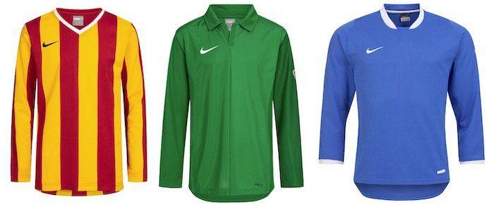 Nike Kinder Fußball Trikots (19 Modelle) für je 3,33€ zzgl. VSK