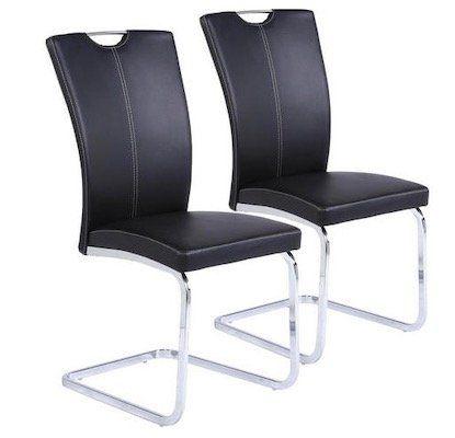 2er Set Xora Schwingstuhl bis 120kg belastbar für 48,85€ (statt 64€)
