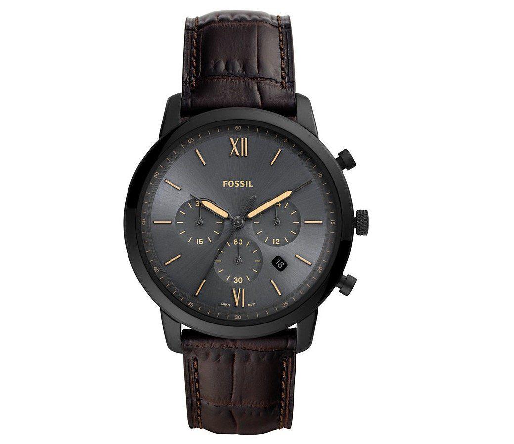 Fossil Neutra FS5579 Herrenuhr mit Echtleder Armband für 79,50€ (statt 125€)