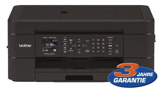 Brother MFC J491DW Tintenstrahl Multifunktionsdrucker für 79,90€ (statt 97€)