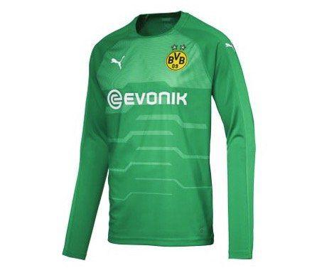 Puma Borussia Dortmund Torwart Trikot 2018/2019 in Grün für 14,98€ (statt 47€)