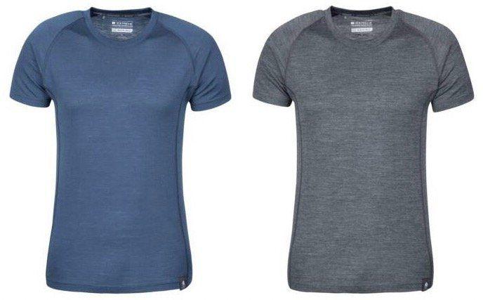 Mountain Warehouse Summit T Shirt aus Merinowolle für 19,19€ (statt 35€)