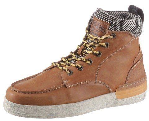 REPLAY Leder Sneaker Louisburg in Hellbraun in vielen Größen für 67,43€ (statt 86€)